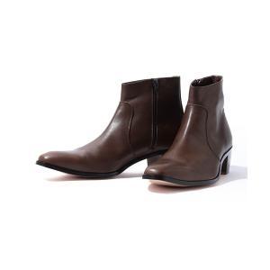 ブーツ PADRONE × BEAMS / 別注 サイドジップ ブーツ