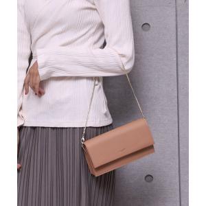バッグ クラッチバッグ 【Ungrid/アングリッド】 お財布ショルダー (ゴールドチェーン付属)
