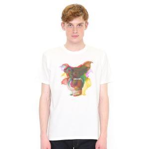 コラボレーションTシャツ/ギズモレイヤー(グレムリン)(ホワイト)