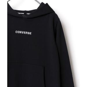 CONVERSE/コンバース ロゴ刺繍プルオーバーパーカー