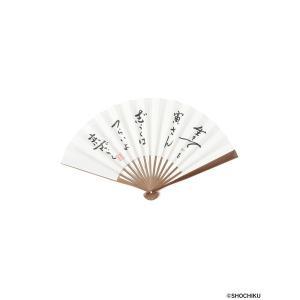扇子 うちわ 3.14 × BEAMS JAPAN / 別注 男はつらいよ 立川志らく ひと言 扇子