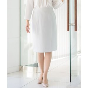 カルゼダブルクロス・バックベンツデザインタイトスカート(裏付)手洗い可