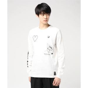 NIKE ナイキ M シーズナル 2 L/S Tシャツ CK2984 100WHITE