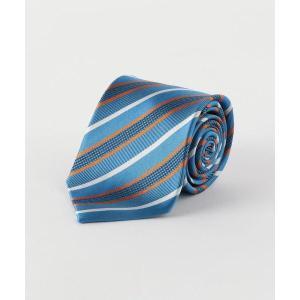 ネクタイ シルク (2) 8.0 ストライプ 1 ネクタイ