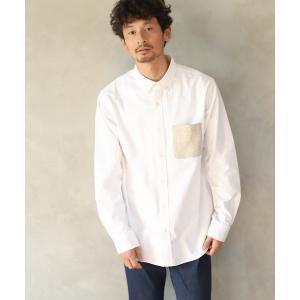 シャツ ブラウス ポケカエOXフォードシャツ【汚れが落ちやすい】/858338