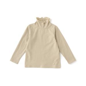 tシャツ Tシャツ オーガニックハイネック長袖インナーTシャツ