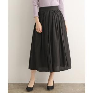 【セットアップ対応】ブライトローンギャザースカート
