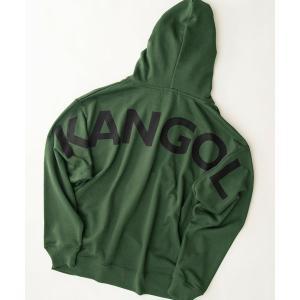 パーカー KANGOL/カンゴール 別注 スーパービッグシルエット バッグロゴ プルオーバーパーカー