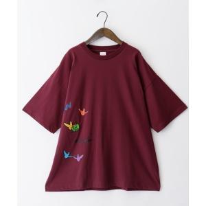 tシャツ Tシャツ MARK GONZALES/マークゴンザレス  act'm 別注 ロゴ刺繍 オーバーサイズ 半袖 カットソー|ZOZOTOWN PayPayモール店