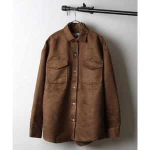 ジャケット ミリタリージャケット 【Nilway】ポリスエードCPOジャケット