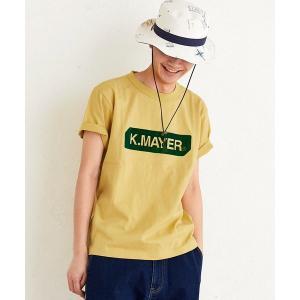 tシャツ Tシャツ ブラシ刺繍ロゴ半袖TEE(BOX)