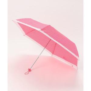 折りたたみ傘 ドット切り替え折りたたみ傘