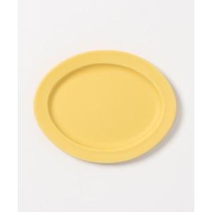 食器 Oval Plate(楕円皿)Sサイズ イエロー/グレー/ネイビー SAKUZAN DAYS ...
