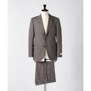 セットアップ <UNITED ARROWS> マイクロチェック 3B スーツ