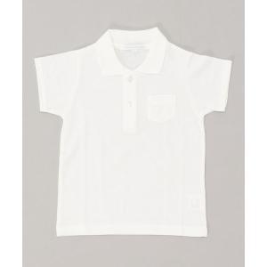 ポロシャツ 白スクールポロシャツ 半袖