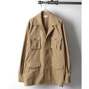 ジャケット ミリタリージャケット 【Nilway】CPOジャケット/サファリジャケット