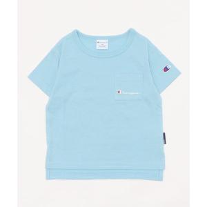 tシャツ Tシャツ ■Champion ポケット付き半袖Tシャツ *