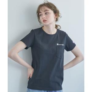 tシャツ Tシャツ Champion×earthポケットTシャツ *