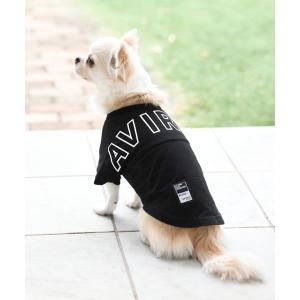 ペット AVIREX/アヴィレックス/ビッグロゴTシャツ/犬服(ドッグウェア)|ZOZOTOWN PayPayモール店