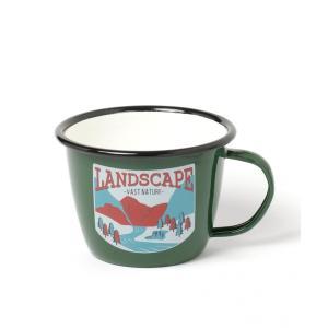 WILDLIFE CREATURES]オリジナルホウロウネイチャーマグカップ