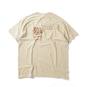 tシャツ Tシャツ WEB限定 KAVU/カブー POTATO SS TEE/バックプリントTシャツ