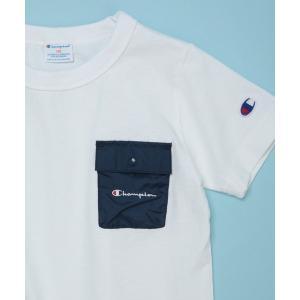 tシャツ Tシャツ 【WEB限定】Champion / チャンピオン KIDS別注ポケットTEE