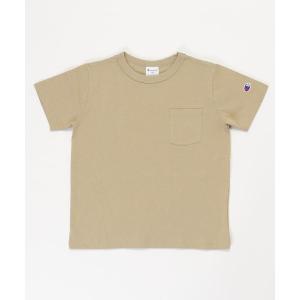tシャツ Tシャツ 【WEB限定】 Champion/チャンピオン KIDS ポケット付き半袖Tシャ...