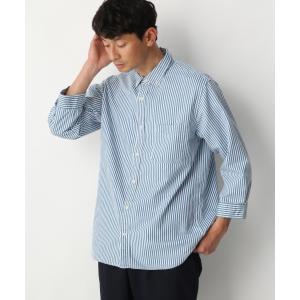 シャツ ブラウス クールタッチデニムシャツ7分袖【接触冷感】/870382