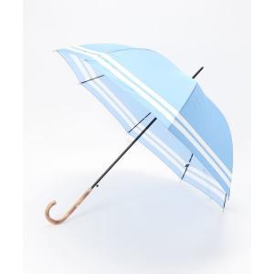 """傘 傘 """"裾ボーダー"""""""