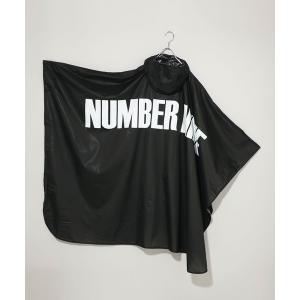 ポンチョ 【NUMBER (N)INE × KiU】《コラボ別注》ウォータープルーフ レインポンチョ...