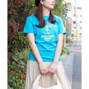 tシャツ Tシャツ 【SUNDAY BEACH CRUISER】SLOW SURF半袖Tシャツ