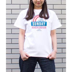 tシャツ Tシャツ 【SUNDAY BEACH CRUISER】RAINBOW半袖Tシャツ