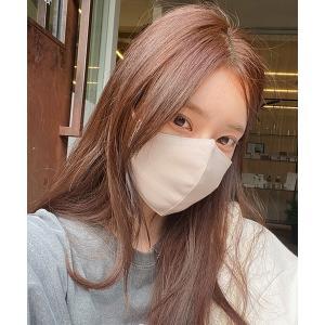 ボディケア CHUU(チュー)ベーシックコットン混マスク