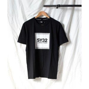 tシャツ Tシャツ 【73】【it】【SY32 by SWEET YEARS】SQUARE LOGO...