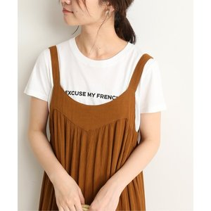 tシャツ Tシャツ 【FRENCH DISORDER】EXCUSE ME FRENCH Tシャツ◆