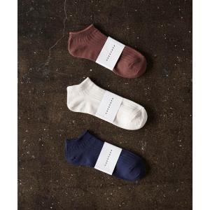 靴下 HARUSAKUCC:Men's RIB Sneaker socks 3P set メンズ リ...