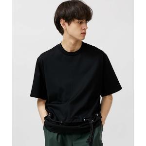 tシャツ Tシャツ 【ETHOSENS】ストリングベルトティーシャツ
