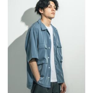 シャツ ブラウス オーバーサイズオープンカラーシャツ / CPOシャツ