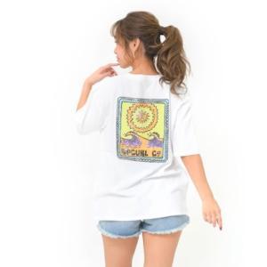 tシャツ Tシャツ 【RIP CURL リップカール】レディースバックプリントTシャツ / 半袖 ビ...