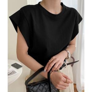 tシャツ Tシャツ NANING9コラボ フレンチスリーブTシャツ