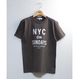 tシャツ Tシャツ NYC ON SUNDAYS半袖ロゴTシャツ