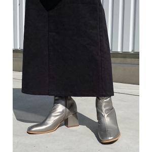 ブーツ ストレッチタイトショートブーツ