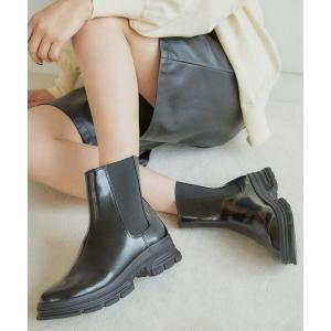 ブーツ 【EVOL】サイドゴアブーツLP40172