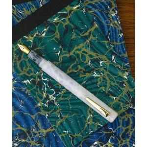 文房具 attache Marbled Fountain Pen アタシェ マーブル万年筆