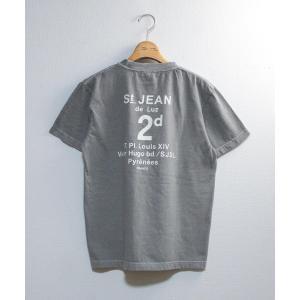tシャツ Tシャツ 【別注ピグメント染】St.JEAN半袖Tシャツ