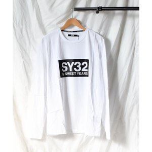 tシャツ Tシャツ 【73】【it】【SY32 by SWEET YEARS】BOXLOG L/S ...