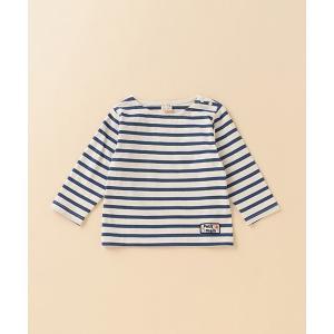 tシャツ Tシャツ ボーダーボートネックTシャツ