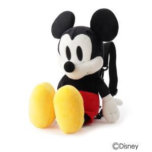 リュック 【Disney/ディズニー】ぬいぐるみリュック(ミッキーマウス&ミニーマウス)