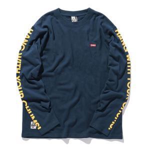 tシャツ Tシャツ WEB限定 CHUMS/チャムス HWYC 袖プリント ロングスリーブTEE/CH01-1795/ロンTの画像