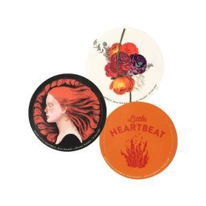 """ステッカー Chara × BEAMS""""LITTLE HEARTBEAT"""" / ステッカー3点セット"""